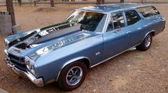 My Dream Car, Dream Cars, Station Wagons For Sale, 70 Chevelle Ss, Sports Wagon, Shooting Brake, Muscle Cars, Chevy, Classic Cars