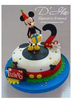 foto de internet torta mickey