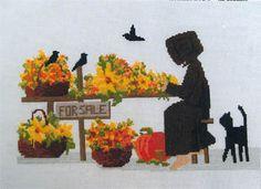 Autumn Arrangements - Cross Stitch Pattern