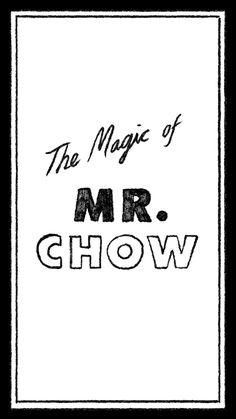 Animation Cel, Chow Chow, Interview, Language, Magic, Languages, Language Arts