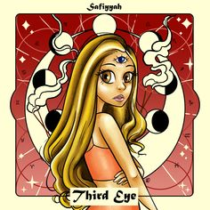 EP Cover designed by Aliyah Art Third Eye, Cover Art, Cover Design, Disney Characters, Fictional Characters, Illustration Art, Disney Princess, Fantasy Characters, Disney Princesses