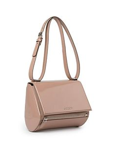 Givenchy Pandora Box Mini Patent-leather Shoulder Bag - Lyst Givenchy  Handbags, New Handbags e3d8ee497f