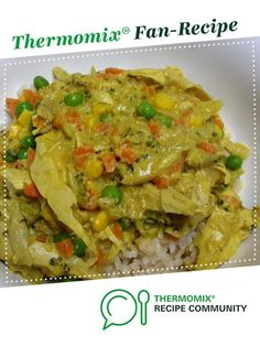 Curried Chicken or Prawns by Thermo_Genie. A Thermomix ® recipe in the category Main dishes - meat on www.recipecommunity.com.au, the Thermomix ® Community.