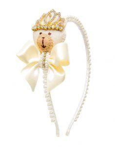 tiaras roana passo a passo - Pesquisa Google Kids Hair Bows, Baby Hair Clips, Handmade Hair Accessories, Kids Hair Accessories, Headband Tutorial, Craft Show Ideas, Hair Beads, Ribbon Work, Diy Hairstyles