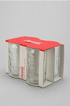 Coke Glass - Set Of 4