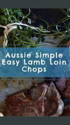 Easy Lamb Recipes, Dinner Recipes, Dinner Ideas, Lamb Loin Chops, Goat Cheese Salad, Turkey Dishes, Brunch Party, Chops Recipe, Good Food