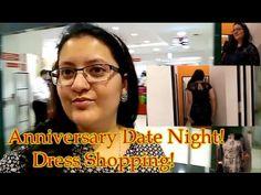 Mairrage Anniversary Preps! Shopping for date night dress - Vlog!