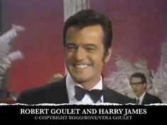 "ROBERT GOULET & HARRY JAMES ORCHESTRA ""MARIE"""