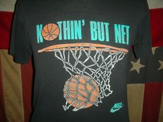 18747f202bc667 Vintage 80s 90s Nike basketball t shirt soft Sporty Look