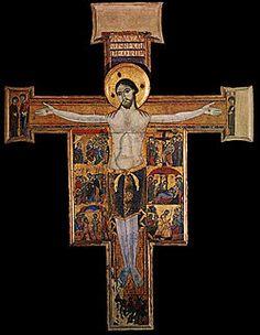 Crocifisso con storie della Passione e della Redenzione(Croce n.432)