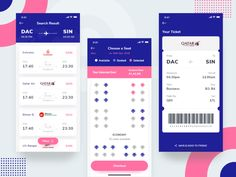 Flight Booking App popular user filters seat ticket design trend interface ios mobile website app booking prelook agency design ux ui search flight flightbooking