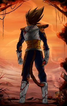 #DBZ | #Vegeta fan art
