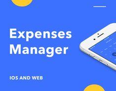 다음 @Behance 프로젝트 확인: \u201cExpenses Manager\u201d https://www.behance.net/gallery/51496233/Expenses-Manager