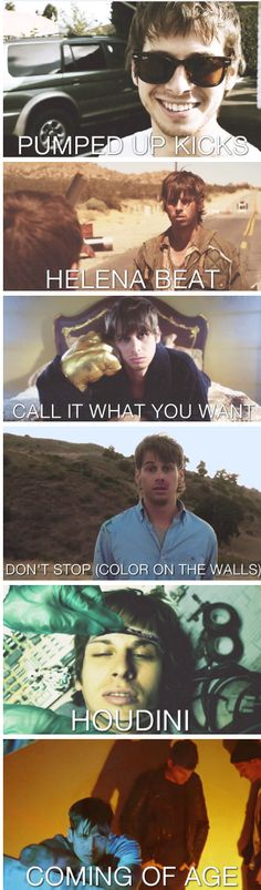 Foster The People's music videos