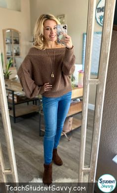 Fall Outfits for Teachers – Amazon Must Haves Teacher Style, Teacher Outfits, Must Haves, Fall Outfits, Pullover, Sweaters, Fashion, Moda, Fashion Styles