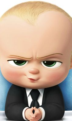 Download The Boss Baby HD Wallpaper In 480x800 Screen Resolution