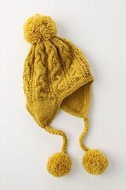 Swingy Pom Pom Hat