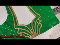 Easy blouse design for beginners/blouse design Patch Work Blouse Designs, Simple Blouse Designs, Stylish Blouse Design, Saree Blouse Neck Designs, Dress Neck Designs, Back Neck Designs, Designer Blouse Patterns, Hand Designs, Bollywood Saree