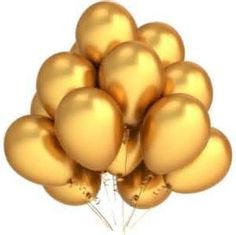 Buy Gold Balloons 12 Inch Thick Inflatable Latex Helium Balloons Wedding Happy Birthday Party Decoration Air Balloons at Wish - Shopping Made Fun New Years Eve Decorations, Wedding Balloon Decorations, Wedding Balloons, Birthday Balloons, Birthday Party Decorations, Party Favors, Birthday Party Clipart, Holiday Decorations, Birthday Ideas