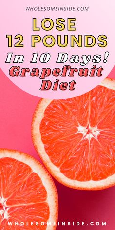 Hoping to lose weight and achieve that flat belly? The grapefruit diet could be the perfect meal plan to lose as much as 12LBS in 10 DAYS! This quick and natural weight loss method can be added onto your work out routine to achieve even more effective results! Follow this link for detailed DAY BY DAY meal plan and guide 😋 Best Weight Loss Foods, Weight Loss Snacks, Weight Loss Tips, Lose Weight Naturally, How To Lose Weight Fast, Grapefruit Diet, Flat Belly, 10 Days, Meal Planning