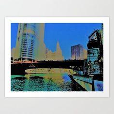 Chicago / Illinois / Downtown / Chicago River / Chicago Loop / Bridge