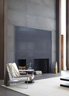 Here are the Contemporary Fireplace Design Ideas. This article about Contemporary Fireplace Design Ideas was posted under the Interior Design  Contemporary Fireplace Designs, Contemporary Interior, Luxury Interior, Interior Architecture, Interior And Exterior, Home Fireplace, Modern Fireplace, Fireplace Ideas, Fireplace Brick