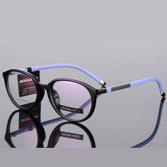 Eyeglasses Frame Women Vintage Computer Optical Glasses Spectacle Frame For Women's Transparent Female Armacao Oculos de RS285