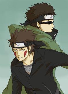 Tags: Anime, NARUTO, Inuzuka Kiba, Aburame Shino, Pixiv Id 945241
