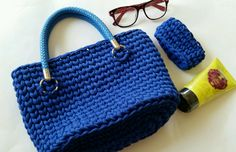 Моя сумочка на конкурс: ru_knitting