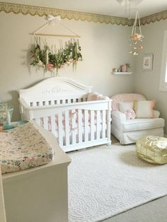 Nursery, baby girl nursery, blush and gold nursery, flower mobile, diy nursery… trendy family must haves for the entire family ready to ship! Free shipping over $50. Top brands and stylish products