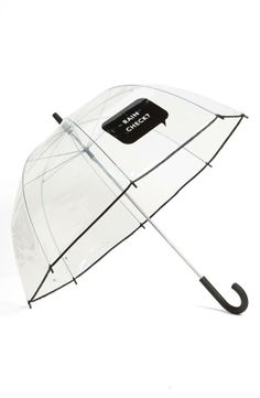 Omg! I love, love, love clear umbrellas!! It allows me to enjoy the rain just a little more! :) @ Nordstrom
