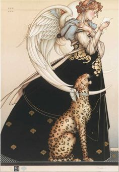 the Letter  by Michael Parkes