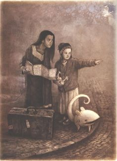 Shaun Tan from his book, The Arrival.