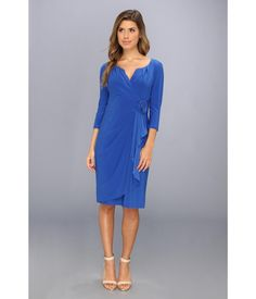 Show off your fierce femininity in this Adrianna Papell™ dress.. Stretch-knit dress features a ros...