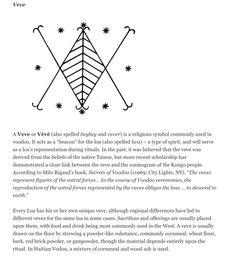 Voodoo symbol