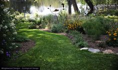 Eclectic Landscape by Minglewood Designs