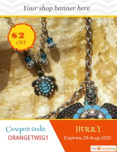 Get USD 2.00 OFF our Entire Store now! Enter Coupon Code: ORANGETWIG1 Restrictions: Min purchase: USD 10.00, Expiry: 29-Aug-2015. Click here to avail coupon: https://orangetwig.com/shops/AABD9me/campaigns/AABIgx1?cb=2015008&sn=Anything4UCreations&ch=pin&crid=AABIgx4