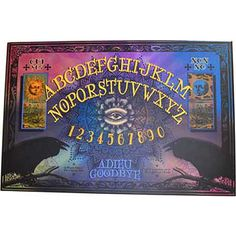 Ravens Psychic Oracle (Ouija Board) by Charme Et Sortilege Ouija, Psychic Abilities, Punk Fashion, Ravens, Boards, Charmed, Spirit, Magick, Communication