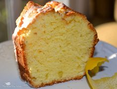A Southern Soul: Lemon pound cake recipe this recipe is amazing!!!! Served it with lemon glaze and fresh strawberries - total crowd pleaser!!
