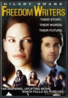 FREEDOM WRITERS - A 2007 Biographical Drama starring Hilary Swank & Patrick Dempsey. It is a true story of an young idealistic teacher who inspires her class of at-risk students to learn tolerance, apply themselves, & pursue education beyond high school. Patrick Dempsey, Streaming Hd, Streaming Movies, Freedom Writers Movie, Movies Showing, Movies And Tv Shows, Image Film, Dylan Mcdermott, The Blues Brothers