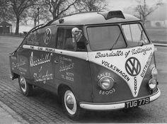 Beardalls of Nottingham - Page 2 - General/Chat - International Vintage Volkswagen Forums Volkswagen Bus, T3 Vw, Volkswagen Transporter, Vintage Vans, Vintage Trucks, Vans Vw, Carros Vw, Combi T1, Combi Split