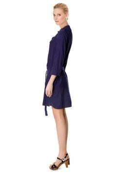 Vente Somewhere / 11982 / Robes et Combinaisons / Robes / Robe en Velours Bleu Nuit