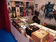 Sandawe au festival international de la BD d'Angoulême.