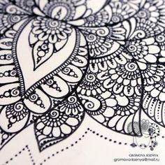 https://flic.kr/p/GQRoNn   Лотос. Детали :) #орнамент #узор #graphic #art #акварель  #mandala #ornament #pattern #drawing #рисунок #geometry #zentangle #зентангл #sketch #topcreator #instagood #drawing #artwork #tattooart #tattoo  #henna  #молескин #Moleskine #Daily__Art #artists_m