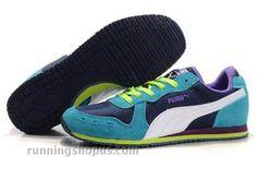 Puma Usain Bolt Running Shoes Blue Purple White - The Running Shop