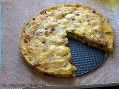 gluténmentes pizza Polenta Pizza, Polenta Cakes, Polenta Gluten, Paleo Pizza, Egg Free, Apple Pie, Quiche, Vegetarian Recipes, Gluten Free
