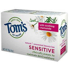 Natural Sensitive Unscented Beauty Bar  - More @ the Tom's of Maine on www.greenearthdealsonline.com
