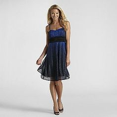 -Women's Glitter Formal Dress