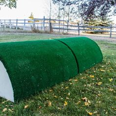 I made a roll top! And I made a video showing how I did it! If you have ever wondered how to make a roll top, my video will show you how YOU can build this monster! #crosscountry #horsejumps #jumps #youcandoit