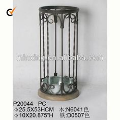 Great deal metal and wooden umbrella stand $1~$50